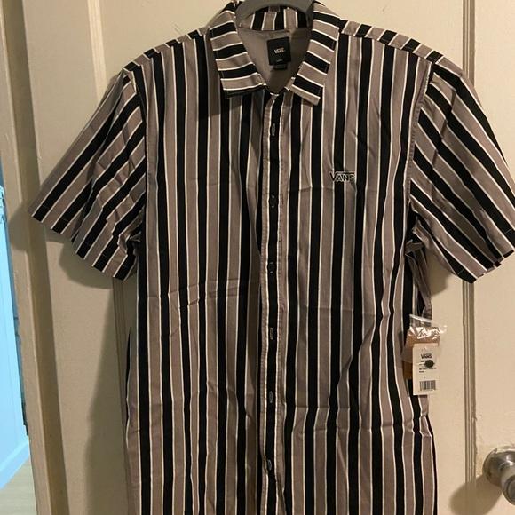 MENS Van button up shirt